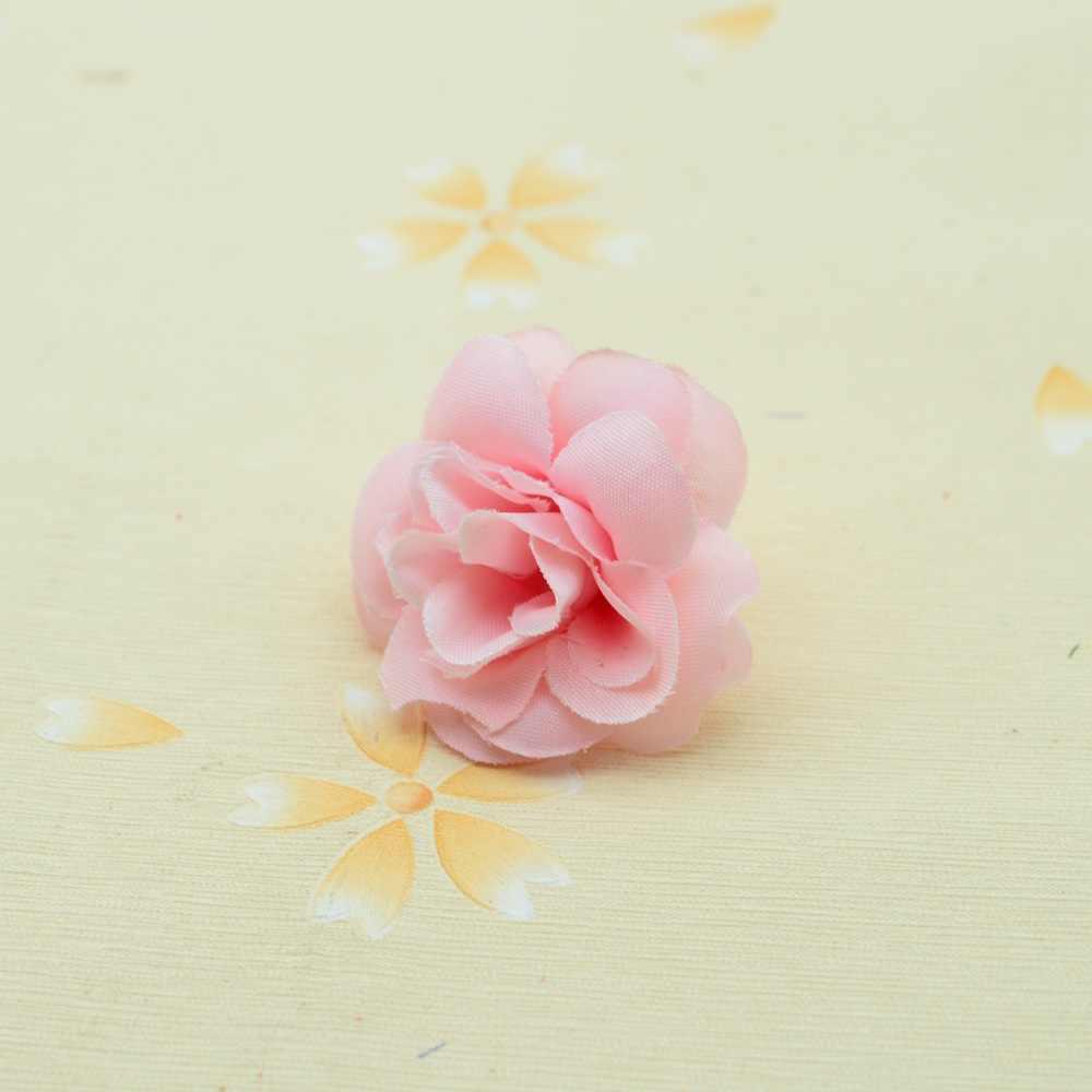 10 pçs 4cm rosas de seda para decoração de casa acessórios natal casamento scrapbook falso plástico diy grinalda presente flores artificiais