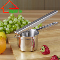 Fashion Stainless Steel Fruit Vegetable Tools Home Essential Slicer Potatos Free Shipping Cooking Tools Potato Pressure Machine