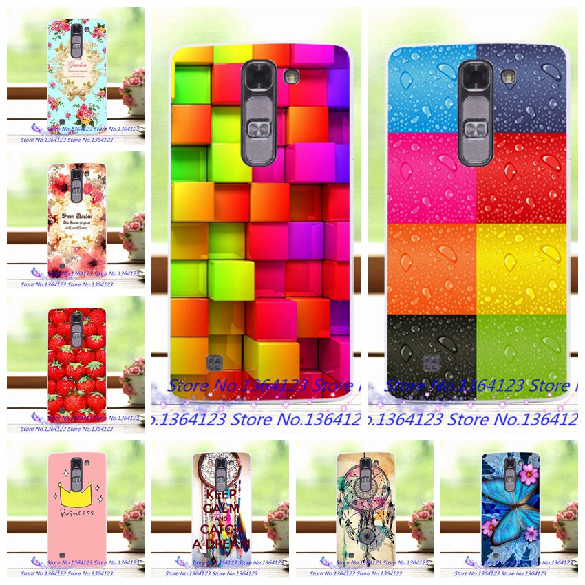 2016 Newest Floral Hard Plastic Case For LG Magna H502F H500F C90 Colorful Flower Painted Case For LG G4C G4 mini Back Cover