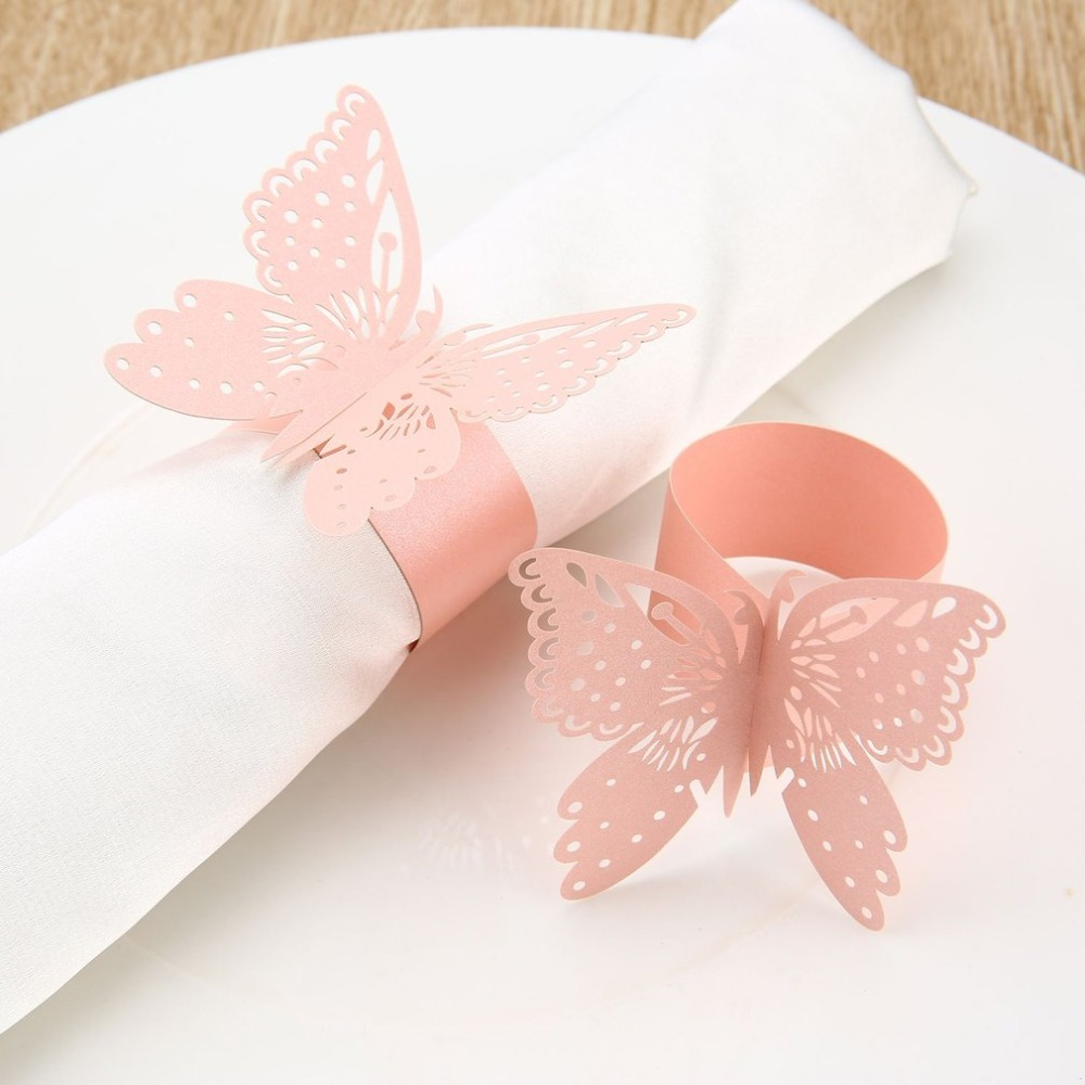 Buy napkin paper rings wedding swan and get free shipping on ...
