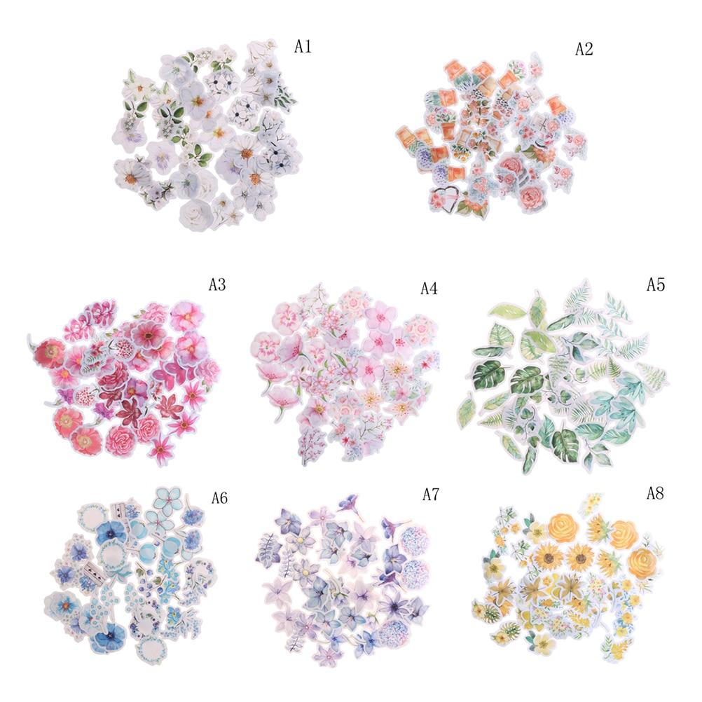 Aliexpress.com : Buy 45 Pcs/Pack Journal Cute Diary Flower ...
