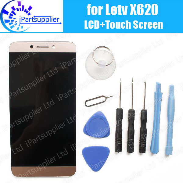 100% Original for <font><b>Letv</b></font> <font><b>X620</b></font> Le 2 <font><b>X620</b></font> <font><b>Letv</b></font> Le 2 Pro <font><b>LCD</b></font> Display + Touch Screen Digitizer Assembly Replacement + Tools image