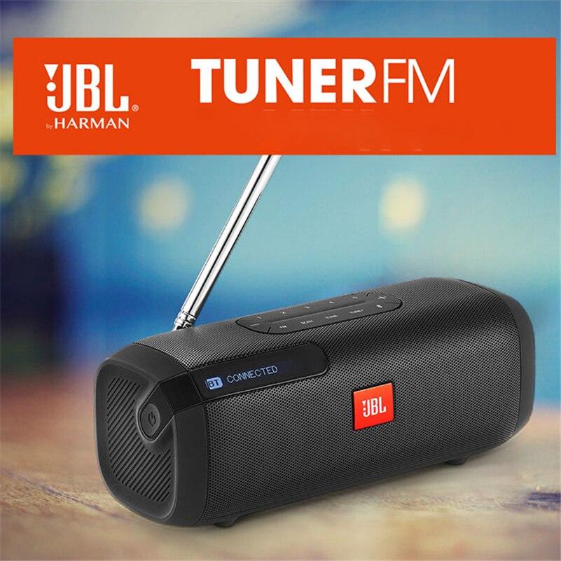 JBL TUNER FM Portable Bluetooth Speaker with Radio Jbl Altavoz Bluetooth Soundbar Wireless Waterproof Stereo Bass Speaker