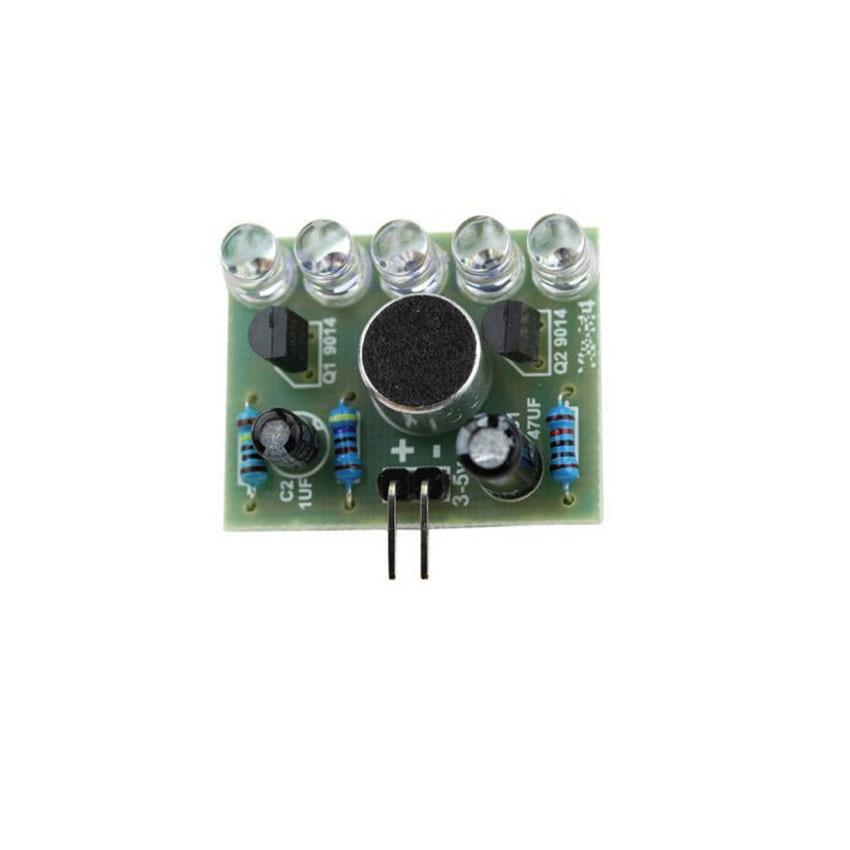 Diy electronics sound control led melody lamp electronic for Diy electronic gadgets