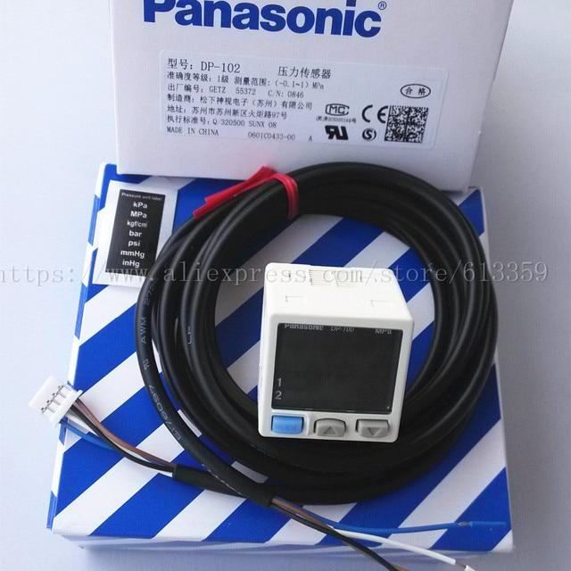 DP 102 NPN  Digital Vacuum Positive Pressure Sensor Pressure Controller  0.1 ~ +1 MPa ( 14.6 to +146.4 psi) 100% New Original