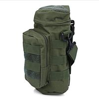 Multifunctional Molle Outdoor Bottles Package Military Tactical Water Bags Holder Camping Hiking Hunting CS Sports