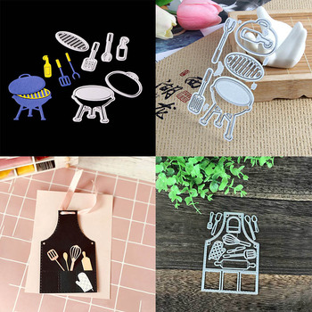 Metal Cutting Dies Stencil Kitchen Tools Photo Album Paper Cards Making Embossing Scrapbooking Die Cut DIY Scrapbooking diy crop top