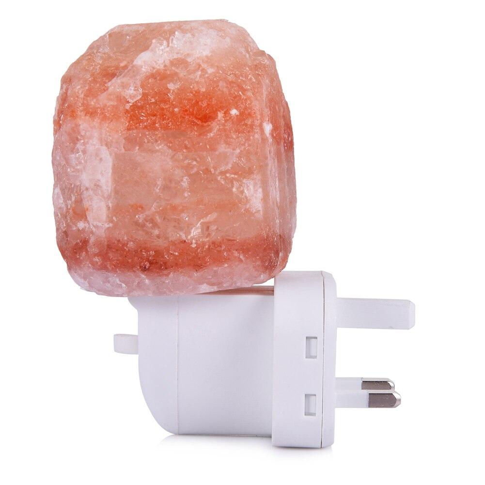 LEDGLE 10 watt Salz Lampe Himalaya Salz Licht mit Wand Stecker, Natürliche Salz, 230 v, eingebaute Glühlampen Glühbirne