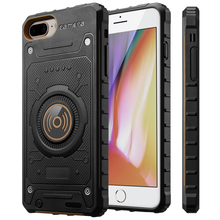 Support Wireless Charger Portable External Battery Power bank battery Case For iPhone 6 7 8 case 4.7 2850mAh 6 7 8 P 5.5 3350mAh