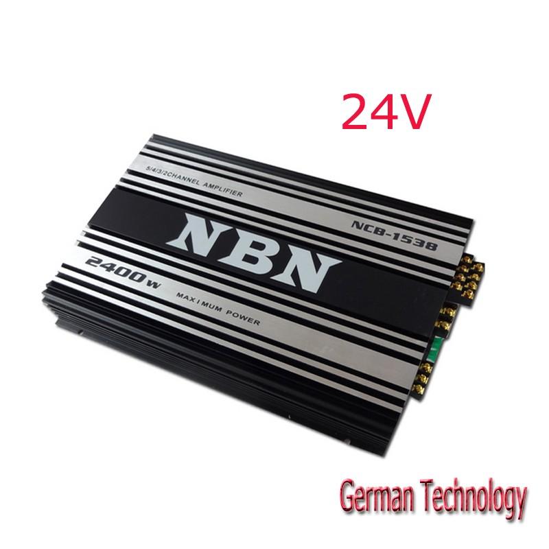 24V car amplifier