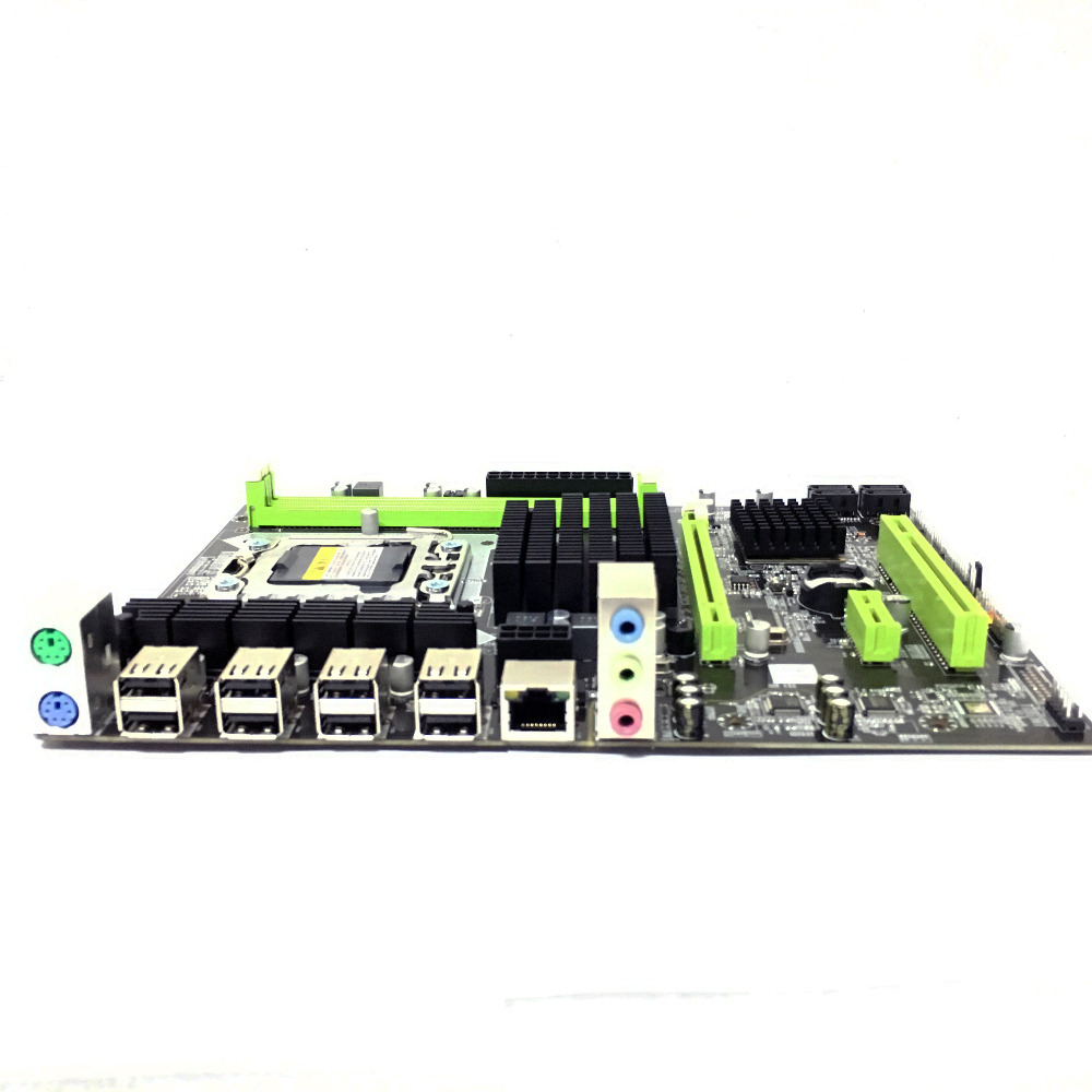 X58 LGA 1366  LGA1366 DDR3 PC Desktops   Motherboards Computer Computer Motherboards Suitable for server  ECC  ECC REG RAM