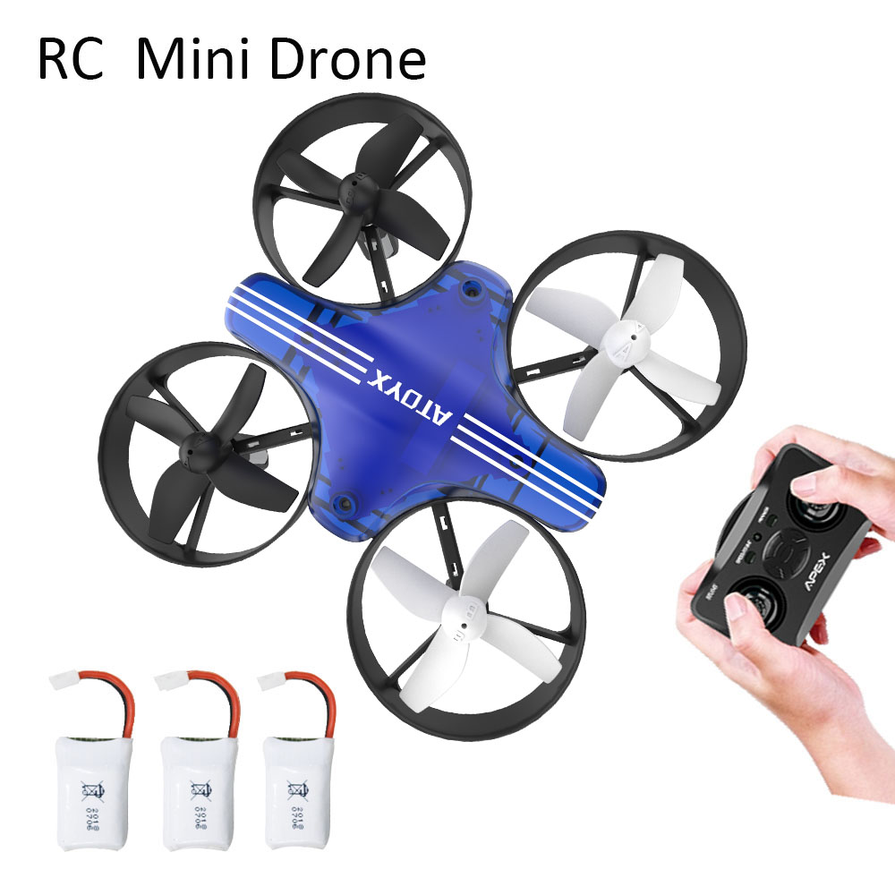 Mini Drone Dron Quadcopter Remote contral RC Drone Helicopter 2 4G 6 Axis Gyro Micro with