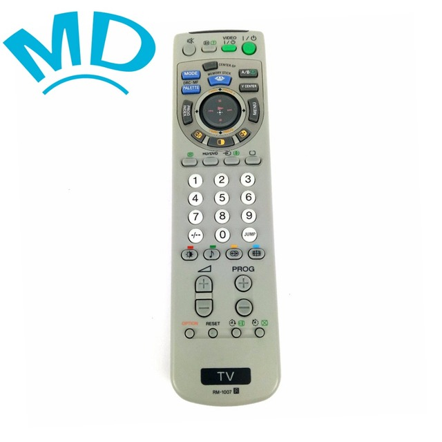 US $16 98 |New Original RM 1007 TV Remote Control Fit For Sony RM 1008 RM  998 RM 993 RM 1009 NEW SMART Fernbedienung-in Remote Controls from Consumer