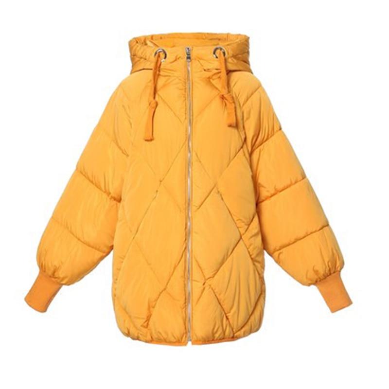 Fashion winter jacket women 2018 casual winter Coat women Solid plus size women   Parka   2018 casaco feminino jaqueta feminina
