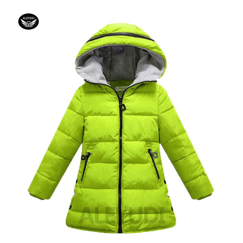 huge discount 4b4af 031e9 ALEYUDI Kinder Mit Kapuze Lange Jacke Mädchen Winter ...