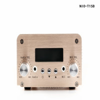 Free Shipping Wireless Bluetooth NIO T15B 5W/15W FM Broadcast Radio with PC Control Audio Amplifier