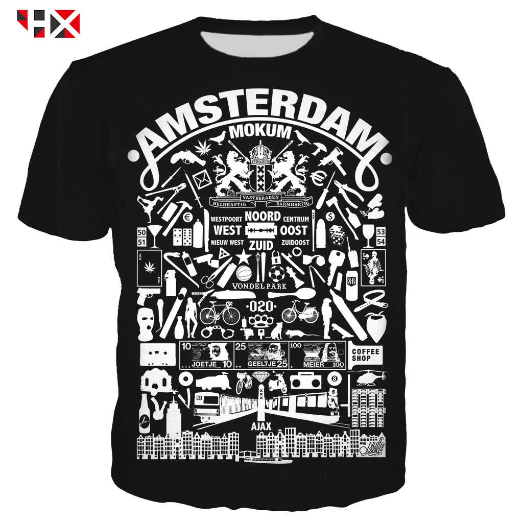 HX New Arrive Popular Ajax Series T Shirt Men/women 3D Print Harajuku T Shirt /Hoodies/Sweatshirts Summer Streetwear Tops A743