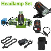 23000lm LED Smuxi headlamp t6 headlight 5 modes head light waterproof flashlight zoomable use 18650 for hunting cycling