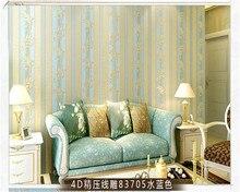 beibehang papel de parede4D compaction modern minimalist stripes non-woven living room bedroom wallpaper hudas beauty behang