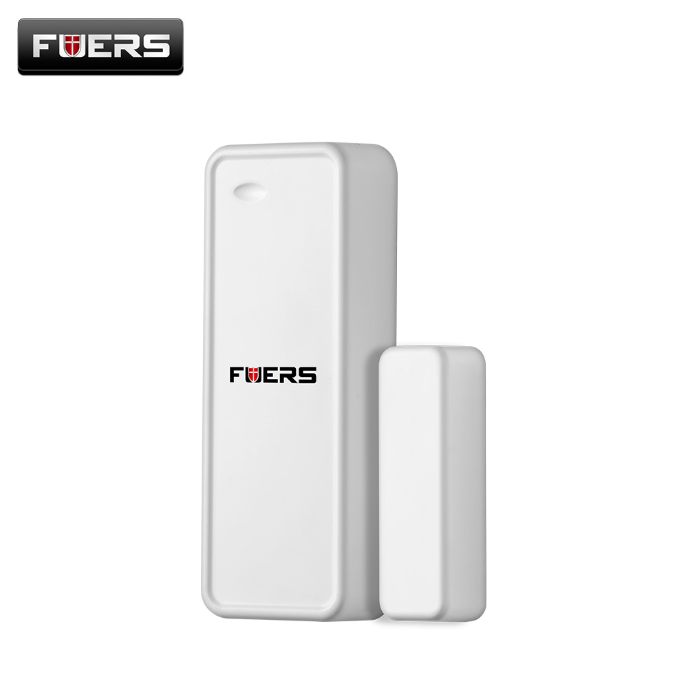 Fuers 2018 New Wireless Door Window Sensor 433MHZ Door Detector For G90B G90b Plus Wifi GSM Home Security Burglar Alarm System wireless multi function door sensor magnetic window detector for security alarm system automatic door sensor 433mhz