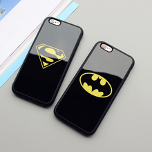 Superman Batman Case For iPhone X/ 7/8 Plus /5(s) SE/ 6(s)