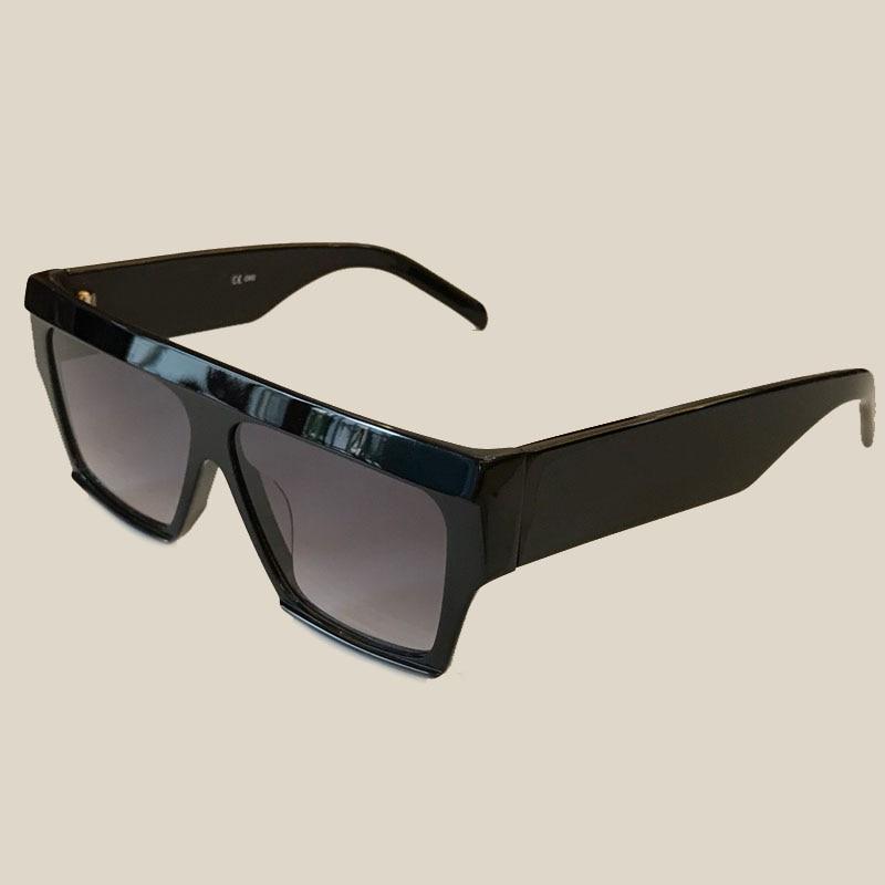 2018 New Fashion Sunglasses Women Brand Designer High Quality Oculos De Sol Feminino Steampunk Square Acetate