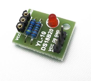 Darmowa wysyłka 5 sztuk partia moduł czujnika temperatury moduł czujnika temperatury moduł temperatury moduł DS18B20 (z wyjątkiem DS18B20) tanie i dobre opinie custom-souring CN (pochodzenie) DS18B20 module