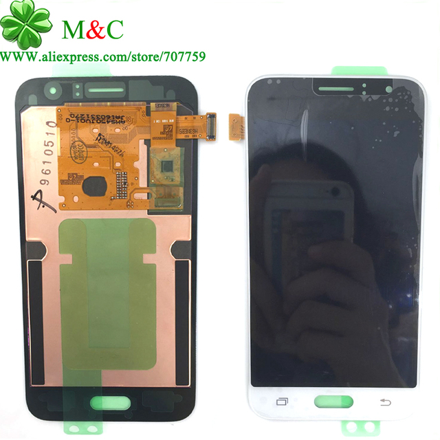 10 pcs testado lcd touch panel para samsung galaxy j1 j120 j120f J120DS J120G J120H J120M Display LCD de Toque Digitador Da Tela por DHL