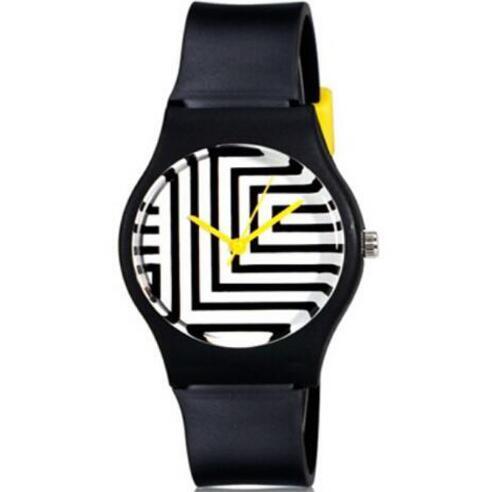 2018 new Willis for Mini Women's Fashionable casual watch Zebra Pattern Analog W