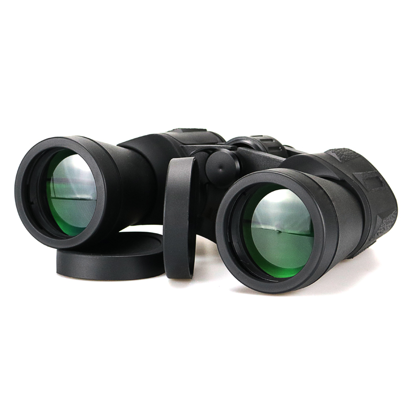 лучшая цена 7x50 Camping Hunting Scopes Binoculars with Strap Carry Bag Night Vision Telescope Optics Binocular