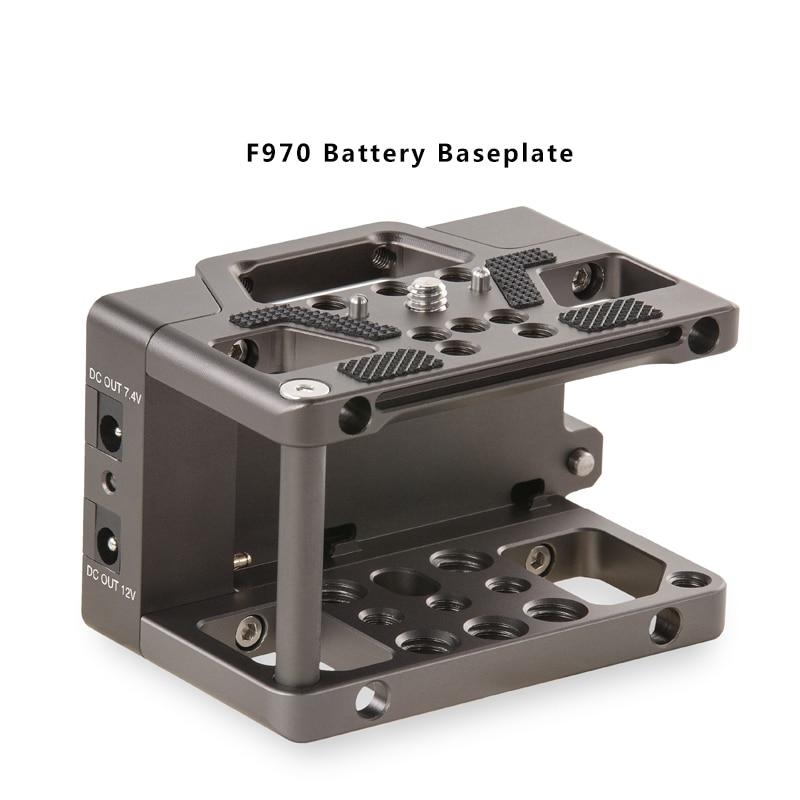 Tilta TA BSP F970 F970 plaque de base de batterie 7.4 v et 12 V sorties cc pour les Cages de caméra BMPCC 4 K-in Accessoires pour studio photo from Electronique    1