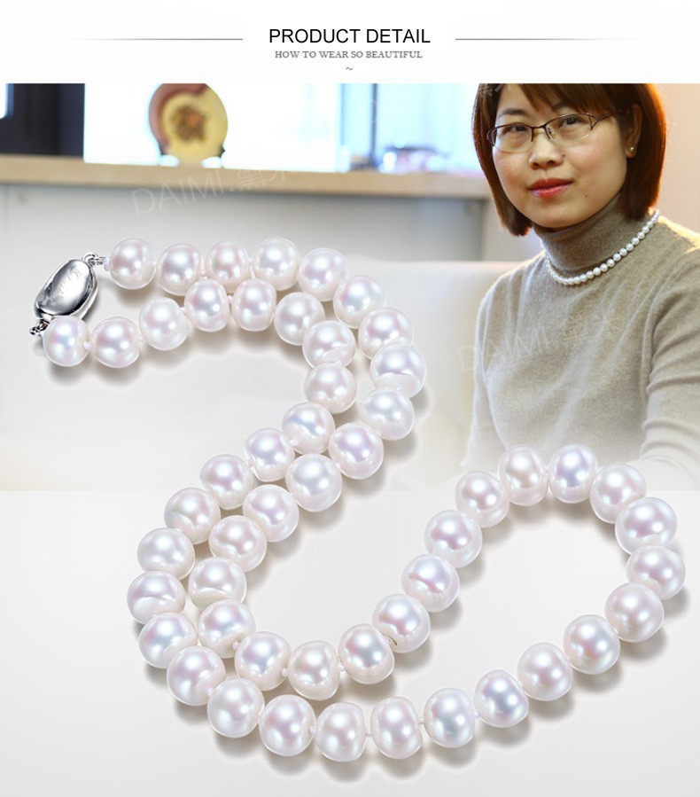 natural pearl necklace  (11)