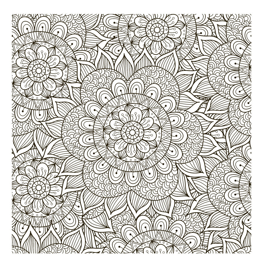 AZSG Flower pattern sequences Clear Stamps For DIY Scrapbooking Decorative Card making Craft Fun Decoration Supplies 10x10cm in Stamps from Home Garden