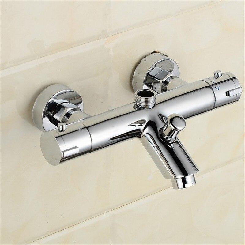 Robinet de douche précipité mélangeur de bain vente directe d'usine à température constante Crock Bibcock robinet thermostatique robinet de douche de salle de bains