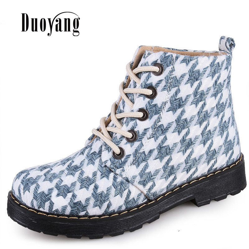 58a0a4cb0c7 US $21.02 12% OFF Winter Women Lace Up Sexy Warm Non Slip Boots Shoes 2018  Woman Boots Fashion Platform Lattice Ankle Boots-in Ankle Boots from Shoes  ...