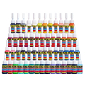 Free shipping Solong Tattoo Ink Professional 54 Colors Set 5ml/Bottle Tattoo Pigment Kit Positive Inks TI1001-5-54