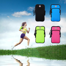 Mobile phone armband for sports, the is on hand while running, can exercise listening to music