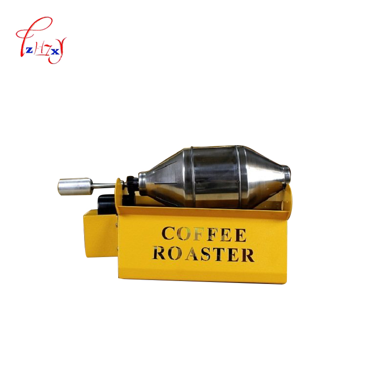 Home Use Coffee Roasters Coffee Bean Baking Machine Stainless steel Coffee Roaster 800g/hour Coffee Baker RT-200 1pc commercial coffee roasters coffee bean baking machine stainless steel coffee roaster 800g hour coffee baker rt 200 1pc