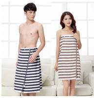cotton adult tube top bath skirt couple bath towel breathable beauty salon sweat steam skirt