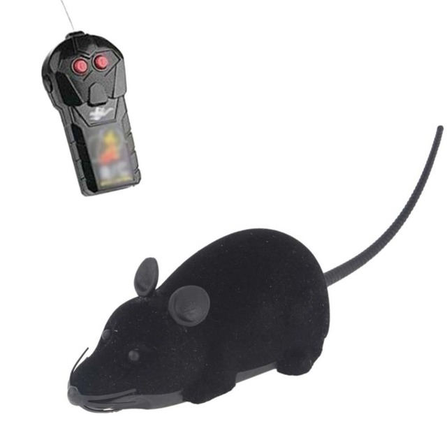 Wireless Remote Control Electronic Mouse Toy