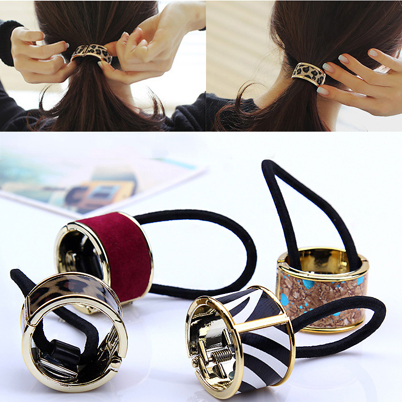 Fashion 15Colors Korean Hair Claw Solid Big Bows Banana