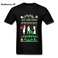 T Shirt Men Christmas Ugly Sweater Cheap Price Latest Funny Tee Tops Short Sleeve Men Clothing
