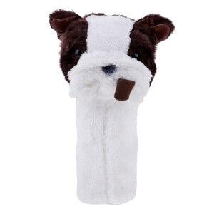 Image 4 - Couverture de tête de protection de Putter de fer de Golf ensemble de couvre chef de Club de Golf de Panda tacheté mignon