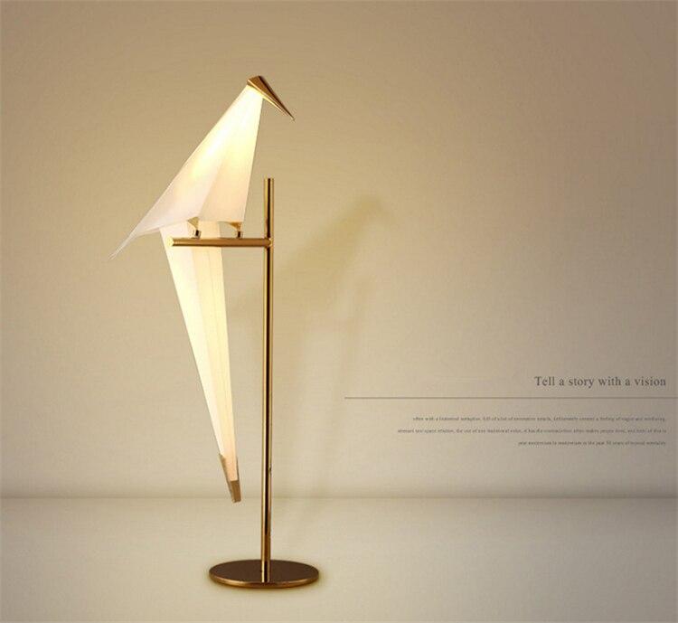 ouro lâmpada assoalho luminárias