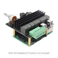 Raspberry pi 4 Computer Model B HIFI DAC+AMP Expansion Board, X450 Audio Sound Card for Raspberry Pi 4/Pi 3B+ Plus/3B