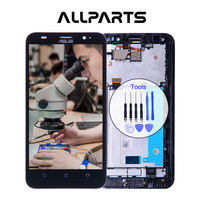 Tested Warranty LCD For Asus Zenfone 2 Ze551ml Display Touch Screen With Frame Digitizer For Asus