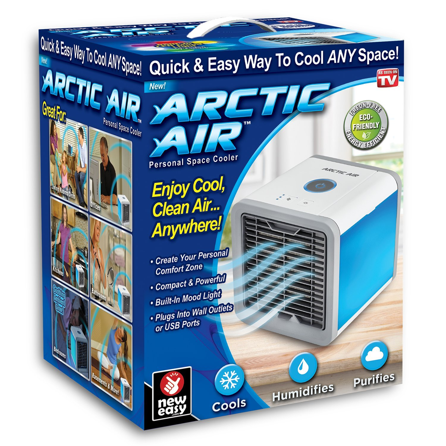 2018 Cheap Arctic Air Personal Space Cooler, Portable Air Conditioner   The Quick & Easy Way to Cool Any Space, As Seen On TV
