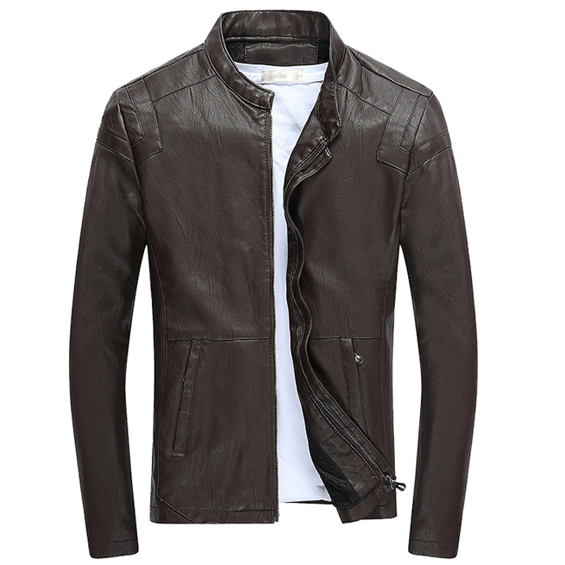 Aliexpress.com : Buy TANGNEST Leather Jacket 2017 Fashion Design ...