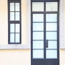 Новое Сменное оконное металлический, застекленный двери euroline стальные окна старые металлические оконные рамы Замена для раздвижных окон