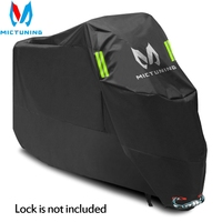 MICTUNING Motorcycle Cover Waterproof Outdoor Indoor XXL Motorbike Cruisers Street Sport Bikes Cover UV Protective Rain Cover